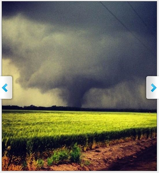 """""""We may have just seen the strongest tornado in the history of the world""""  Moore, Oklahoma tornado. Credit @wx8ben pic.twitter.com/BCVhFoZpHi""""Heartbreaking Video of Tornado Destruction in Oklahoma - may 20, 2013"""