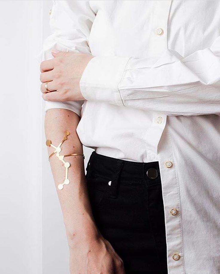   Bracelete Centauro Ouro   Austral Acessórios @austral_acessorios;  Foto Livia Haliski