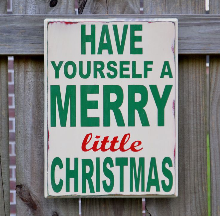 Christmas decor. Christmas sign.
