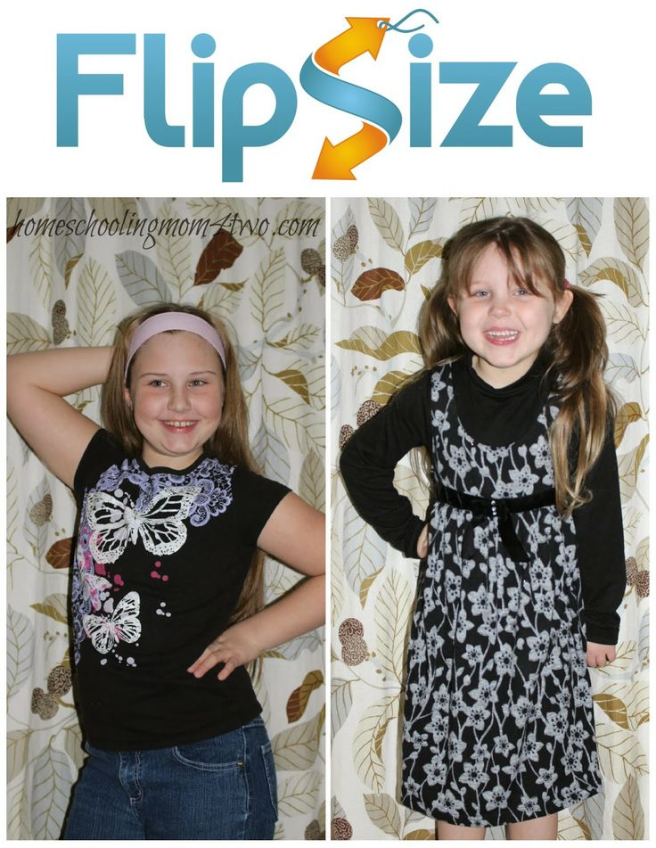 Buy gently used children's clothes for up to 90% off retail from FlipSize Canada online! {#Giveaway} | CAN - 2/23 | Homeschooling Mom 4 Two