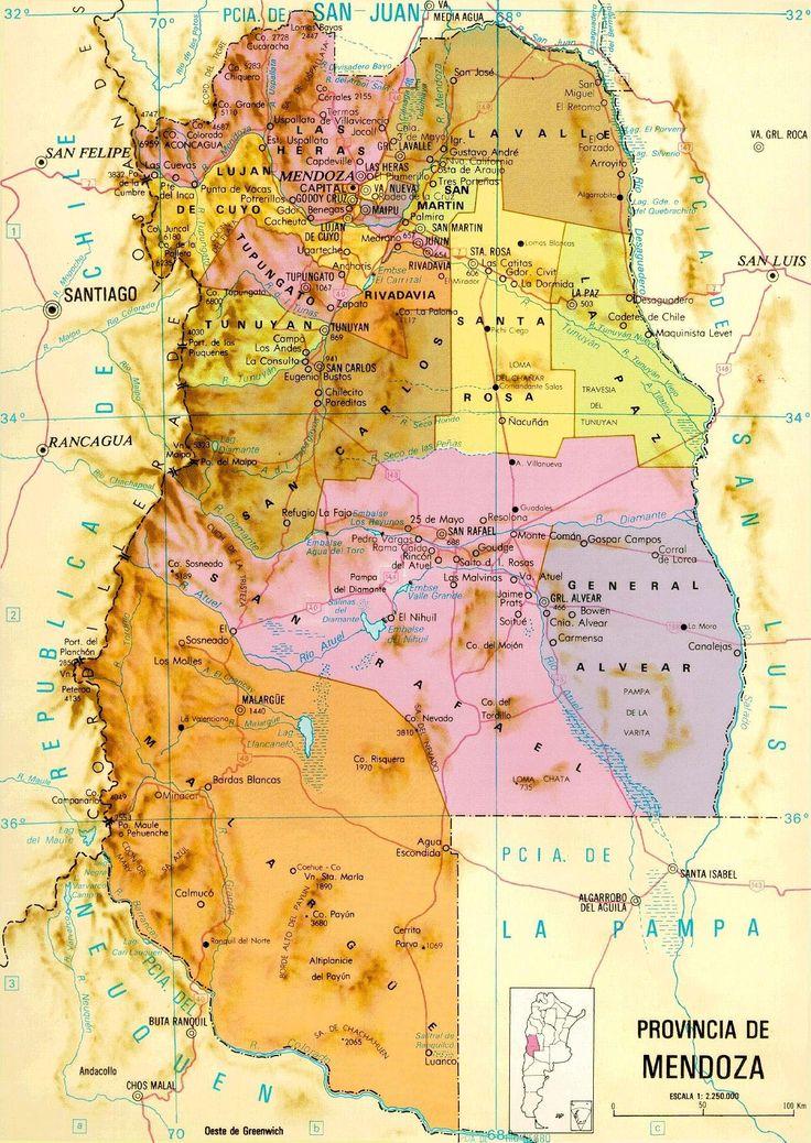 Best Mendoza Province Ideas On Pinterest Mendoza Modern - Argentina map with provinces