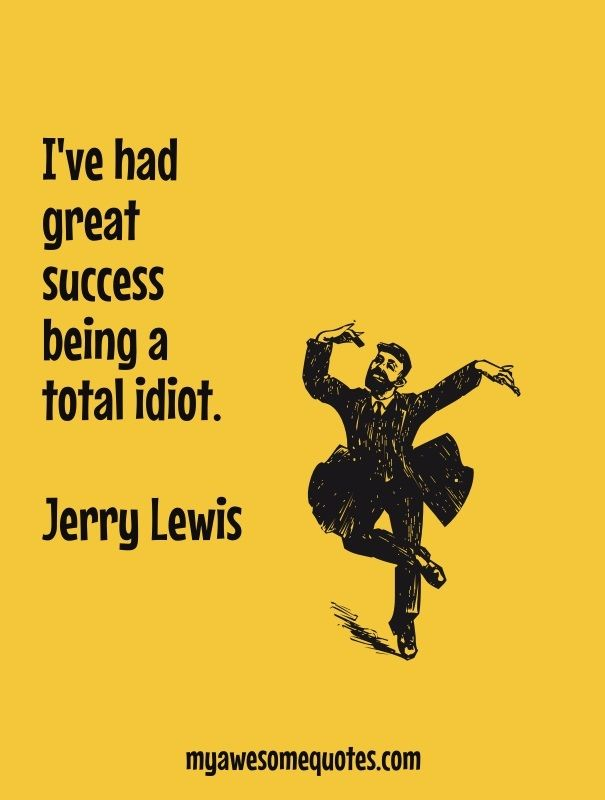 Jerry Lewis Quote About Success
