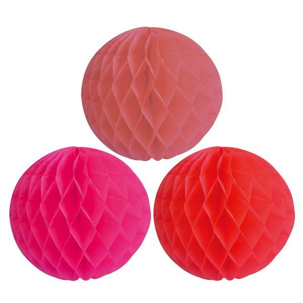 Sainsbury S Home Pink Honeycombs X3 Sainsbury S Sainsburys Home Honeycomb Decorations