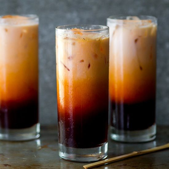 Thai Iced Tea Recipe- So easy and just as delicious as restaurants.
