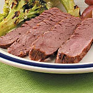 London Broil Recipe -This recipe is delicious. I received it from my mother-in-law, who was a fabulous cook. Prepared on the grill, it's a real treat during warm-weather months. —Susan Wilkins of Los Olivos, California