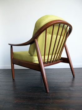 Greaves & Thomas Teak Armchair  Circa 1950's  A wonderfully styled armchair by one of the leading British furniture manufacturers of the era. Lovely sloping frame, and those fantastic sweeping arms. Great proportions. Professionally re-upholstered in a lovely lime weave. Fully fire retardant.  In great condition. Frame good & solid, with only a few small marks, commensurate with age. Seat/back cushions like new! Height: 75cm (seat 40cm)  Depth: 75cm Width: 70cm