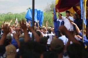 Ribuan Relawan Ikrar Setia Menangkan Mustafa #PartaiNasdem
