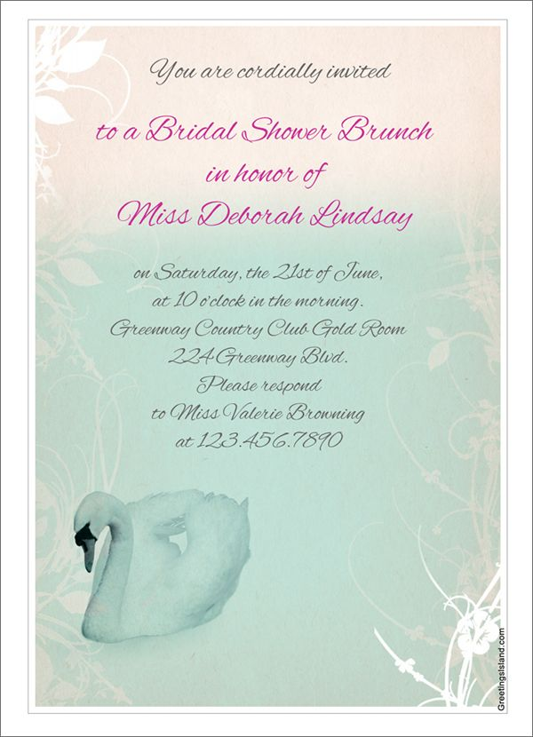 262 best Awesome Wedding Cards Free images on Pinterest Free - bridal shower invitation templates