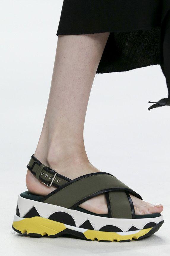 sandals. Marni Spring 2015 RTW – Runway – Vogue