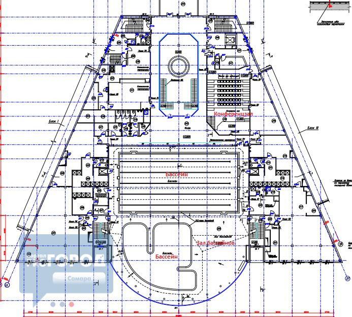Стало известно,как будет выглядеть ФОК с катком и бассейном на стадионе «Орбита» / Новости Самары, новости Самарской области, ПРО город Самара