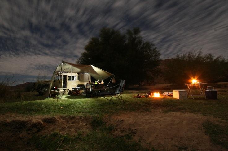 Richtersveld, Orange river camp, South Africa/Namibia border