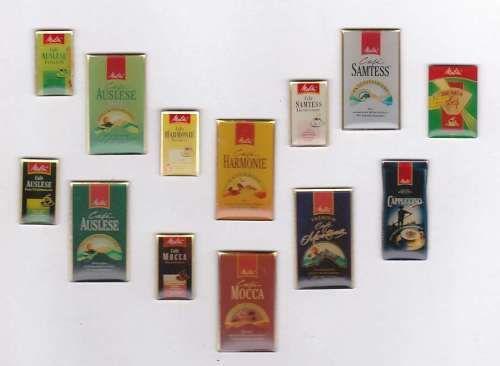 13 Cafè Kaffee Tee - Melitta Café Pins | Sammeln & Seltenes, Pins & Anstecknadeln, Pins, moderne | eBay!