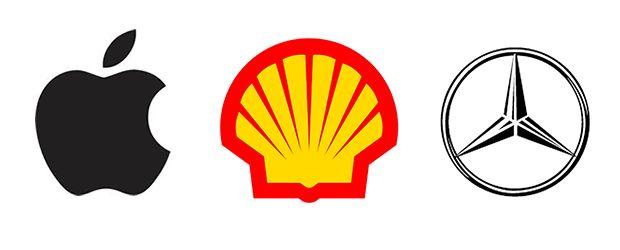 types-of-logos-icon--Symbol/icon -apple-shell-mercedes-benz