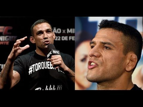 UFC (Ultimate Fighting Championship): UFC 190: Q&A with Fabricio Werdum, Rafael dos Anjos and Thomas Almeida