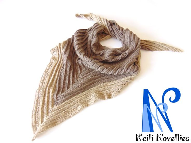 Secret Paths crochet shawl