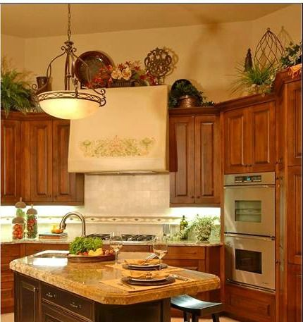 16 Best Images About Decorating Above Kitchen Cabinets On