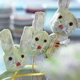 Cake pops-harar  http://www.dansukker.se/se/recept/cake-pops-harar.aspx  Hur söta är inte de här små påskhararna till barnen! #cakepops # easter