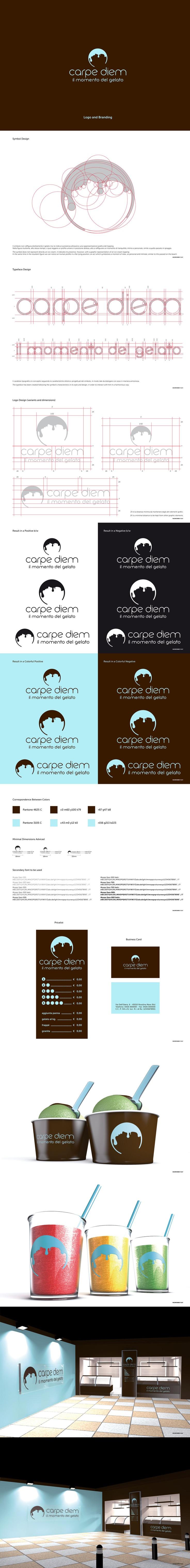Logo Design and Corporate Identity for Carpe Diem - © Concreate Studio®