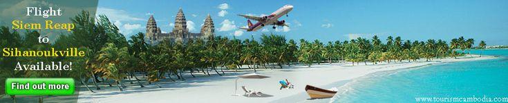Flight Siem Reap to Sihanoukville Available