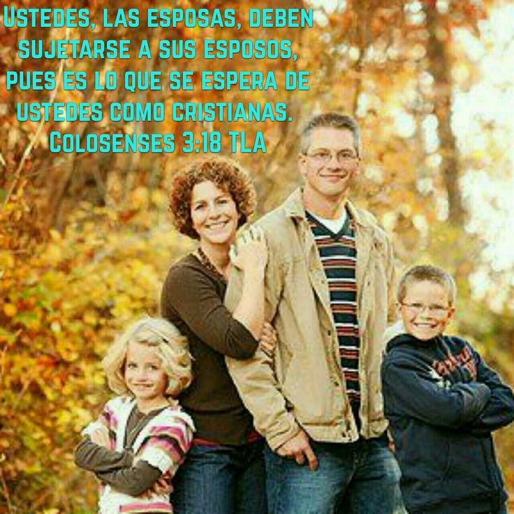 Colosenses 3:19 Las buenas esposas