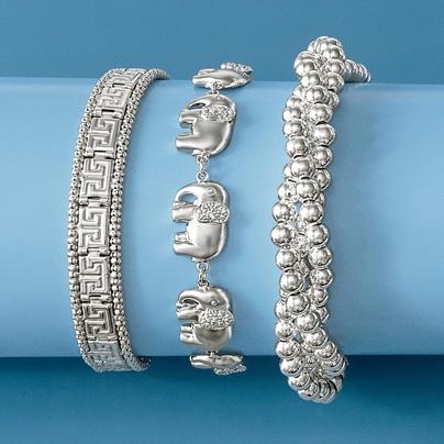 Simons Genuine silver bead ring cehfLY6Kw2