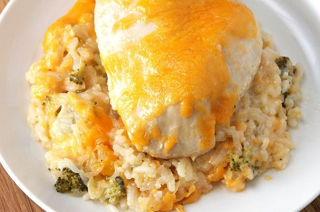 This Recipe For Cheesy Chicken Broccoli And Rice Casserole Will Be A Weeknight Go-To