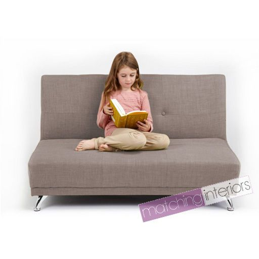 Sectional Sofas Light Grey Clic Clac Children us Kids Seater Sofa Bed Guest Sleepover Settee Sleepover Settees and Kids sofa