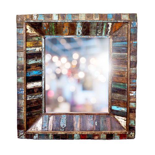 """Miroir Mumbai - 30,5x36"""""""