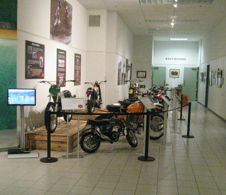 Dusty Jewels Off-Road Motorcycle Exhibit