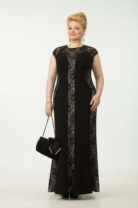 Вечерние и коктейльные платья для полных женщин белорусской компании Tetra Bell. Лето 2015