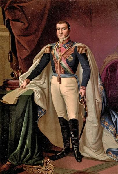 September 27, 1783 - Agustín de Iturbide the first Emperor of Mexico is born in Valladolid, Michoacán