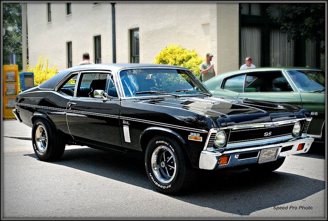 66 chevy 2 nova ss - love this hood
