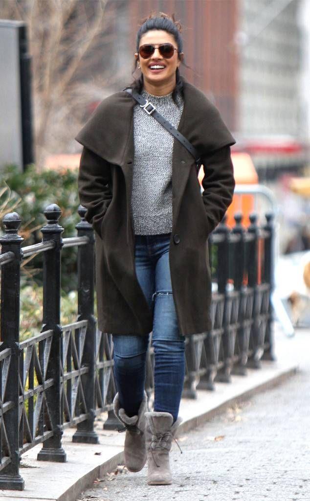 Priyanka Chopra filming Quantico in NYC, I love her Alex Parrish style!