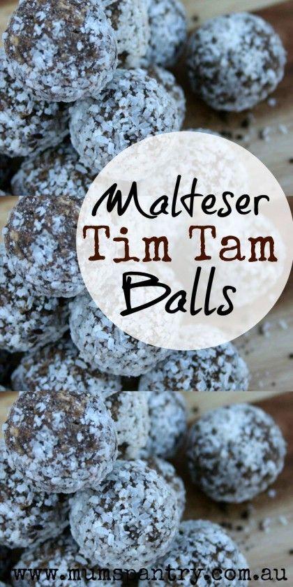 malteser tim tam balls