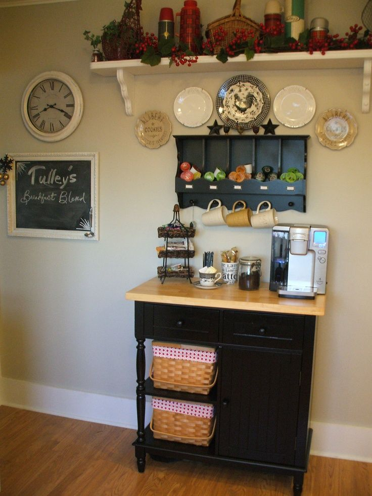 coffee bar ideas coffee it 39 s how i roll pinterest. Black Bedroom Furniture Sets. Home Design Ideas