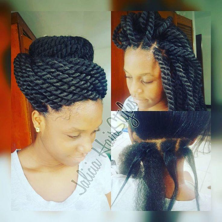 natural hair rubber band braid natural hair rubber band ...