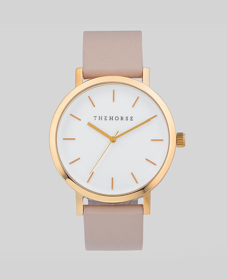 Polished Rose Gold / Blush Leather   Love this and only the Rose Gold comes with the Blush strap but I feel I do wear Silver more often ...