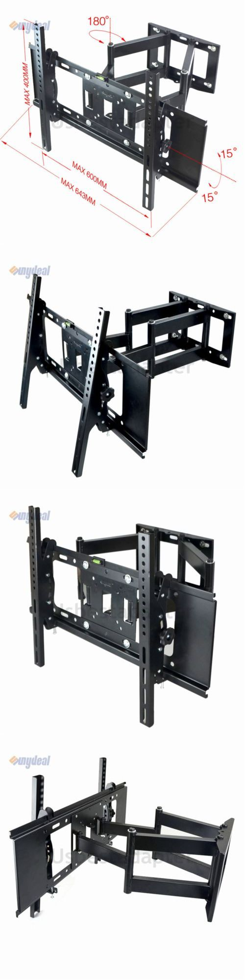 TV Mounts and Brackets: Dual Arm Articulating Swivel Tilt Led Tv Wall Mount 42 46 47 50 52 55 60 65 70 -> BUY IT NOW ONLY: $30.22 on eBay!