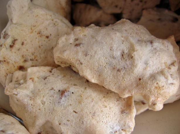 Swiss Alps Cookies from Food.com: Cookies made with the Swiss chocolate Toblerone that are resonably low fat.