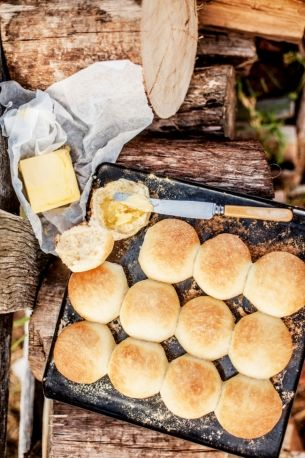 Recipe: Milk buns: An easy and delicious bread roll — no bread maker required. From Paul West's new cookbook The River Cottage Australia.