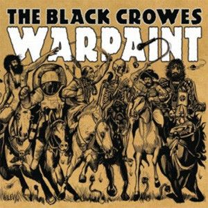 The Black Crowes - Warpaint Limited Edition Colored Vinyl LP June 16 2017 Pre-order