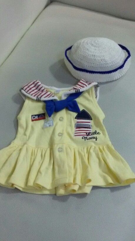 Free Knitting Pattern Baby Sailor Hat : Little sailor hat Crochet Pinterest Sailors and Hats