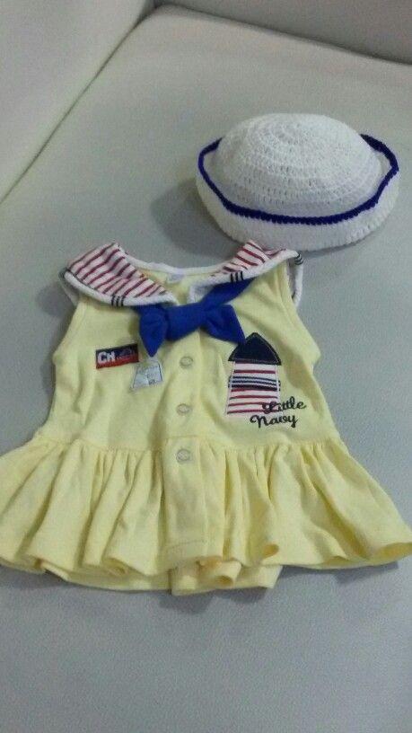 Free Knitting Pattern Baby Sailor Hat : Little sailor hat Crochet Pinterest Sailors and Hats