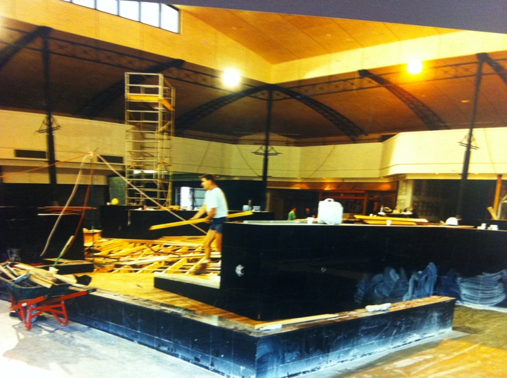 Construction of the Karrinyup Food Court #Karrinyups40thbirthday