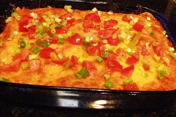 Tried it and love it....Lasagna With Mex Appeal from Food.com: by Looneyspoons, Janet and Greta Podleski.