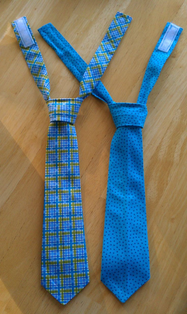 Mom & I made these ties for the boys. (the blogger has a template for infant & for 2T-5T)