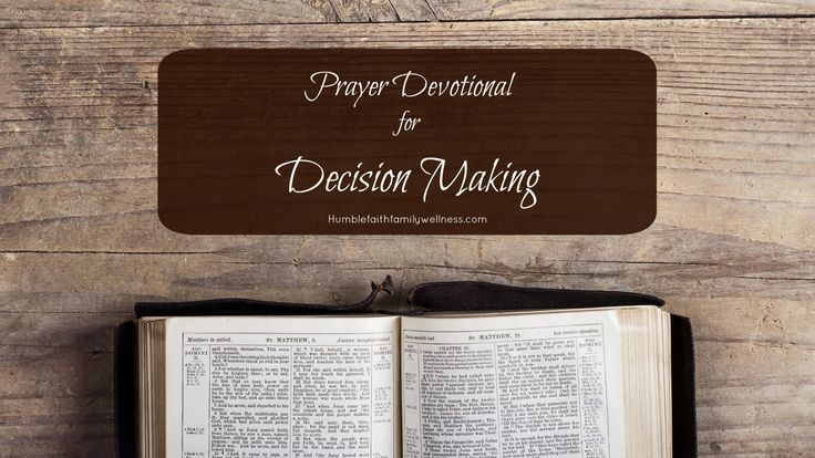 Decision making is a part of our daily life. We are bombarded with decisions. The question is, what template are you using to make your decisions?