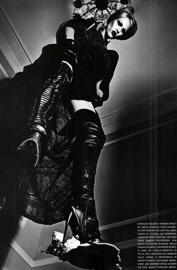 'A Point of View' by Steven Klein | Vogue Italia September 2011 II