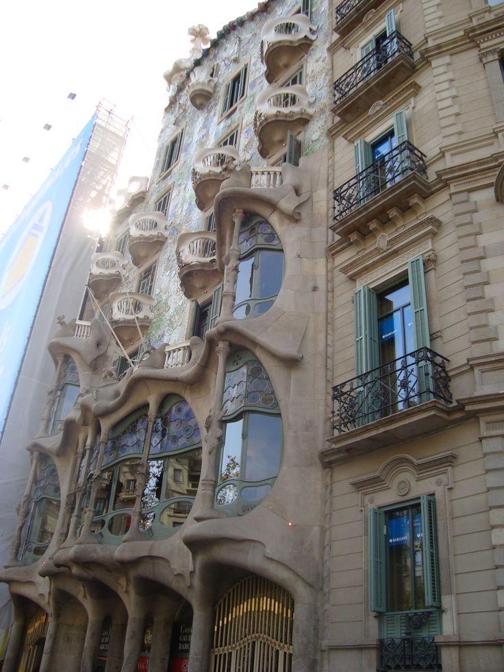 Casa Batlò, Barcellona, Spain