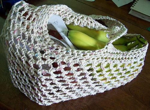 Crochet Market Bag Pattern Free : crochet market bag free pattern CROCHET TOTES/BAGS Pinterest